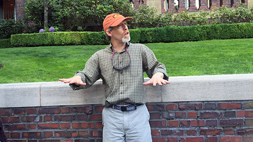 Second 'Stories in Stone' walking tour with David Williams on Aug. 6