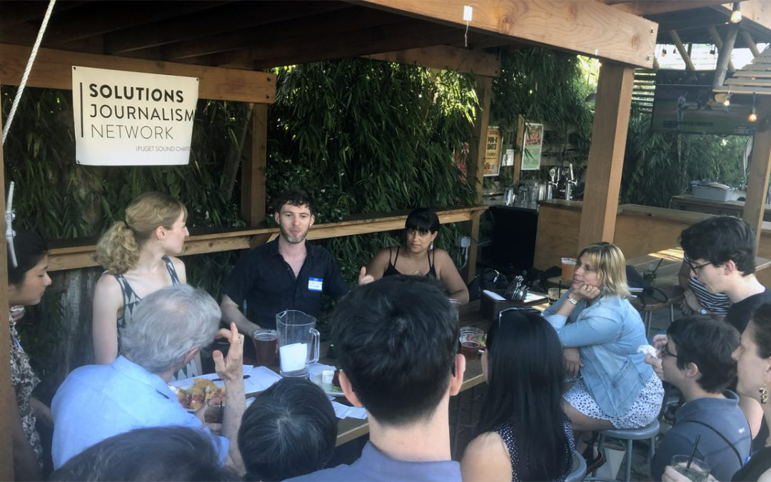 Summer Happy Hour with Solutions Journalism Network