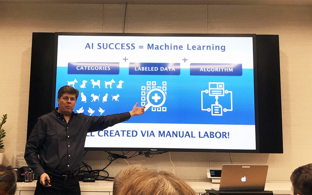 Tour of the Allen Institute for Artificial Intelligence (AI2) with CEO Oren Etzioni