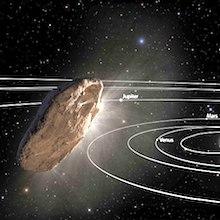 Scheiderer: Whoa! 'Oumuamua!