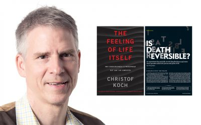 Can consciousness be computed? Can death be reversed? An evening with neuroscientist Christof Koch