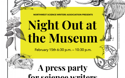 Night Out at the Museum – A Press Party for Science Writers