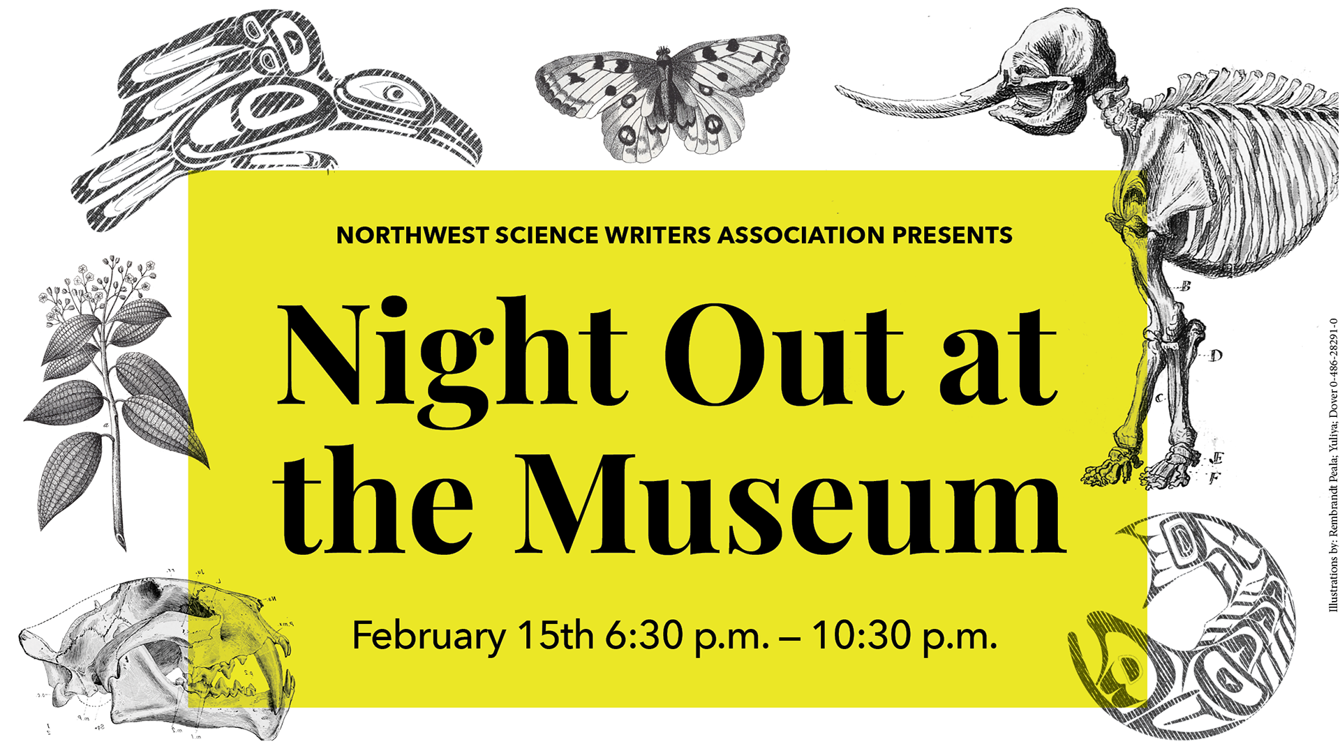 NSWA presents Night Out of the Museum, a press party for science writers